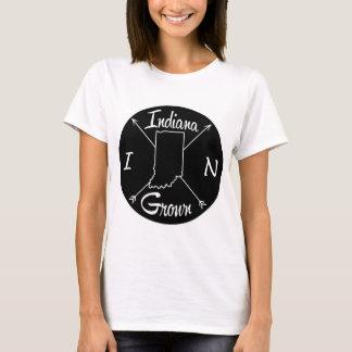 Camiseta Indiana crescido DENTRO