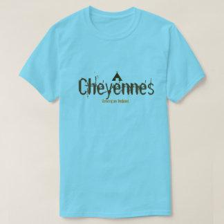 Camiseta Indiano do americano de Cheyennes
