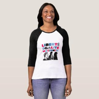 Camiseta Indicação da feminista do t-shirt das mulheres