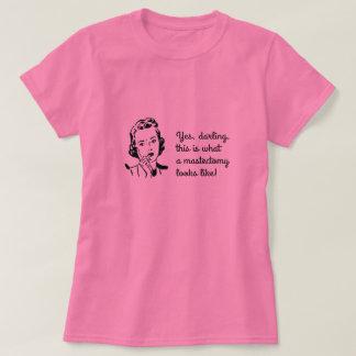 Camiseta Indicação engraçada da mastectomia