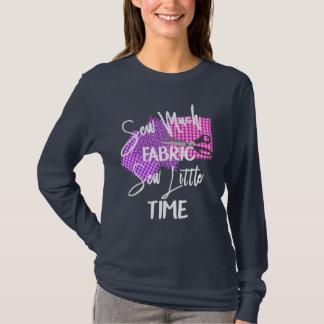 Camiseta Indicação temático Sewing engraçada do slogan