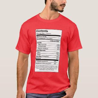 Camiseta Índice do ser humano de 100%