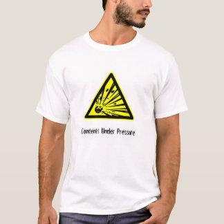 Camiseta Índices sob a pressão