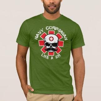 Camiseta Indivíduo alistado na Força Médica do exército