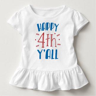 Camiseta Infantil 4o feliz você t-shirt da criança