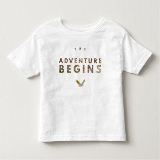 Camiseta Infantil A aventura começa