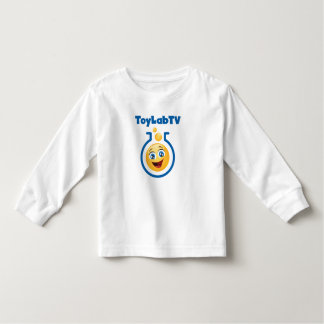 Camiseta Infantil A criança caçoa o t-shirt longo da luva