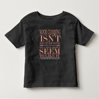 Camiseta Infantil A escalada não é para todos somente pessoas legal