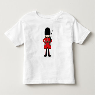Camiseta Infantil A guarda real da rainha