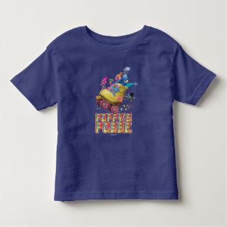 Camiseta Infantil A legião da papoila dos troll |