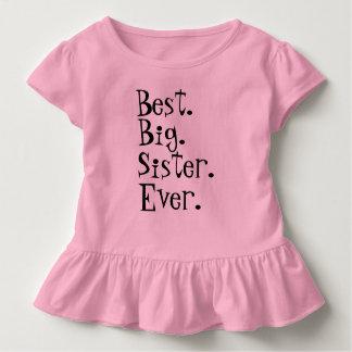 Camiseta Infantil A melhor irmã mais velha nunca