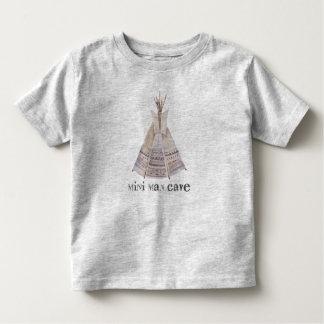 Camiseta Infantil A mini caverna do homem caçoa o T