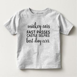Camiseta Infantil a orelha do mickey jejua passagens