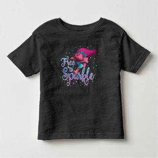 Camiseta Infantil A papoila dos troll | livra à faísca