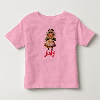 Camiseta Infantil A Senhora Judy Fantoche, adiciona o texto