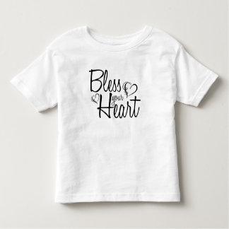 Camiseta Infantil Abençoe seu coração