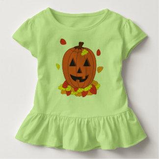 Camiseta Infantil Abóbora de sorriso