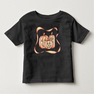 Camiseta Infantil Abóboras felizes do Dia das Bruxas