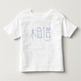 Camiseta Infantil Acredite