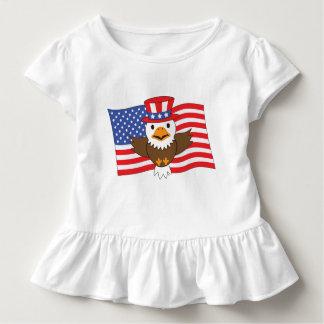 Camiseta Infantil Águia americana americana