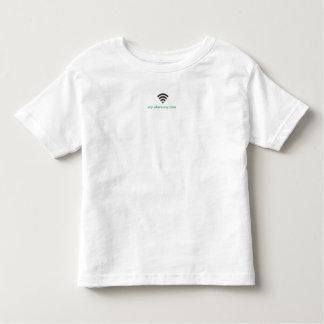Camiseta Infantil @ alguns onde em qualquer altura que