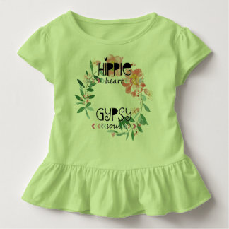 Camiseta Infantil Alma do cigano do coração do Hippie