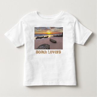 Camiseta Infantil Amantes da praia - tema da temporada de verão