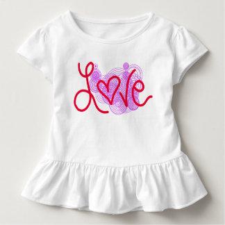 Camiseta Infantil Amor