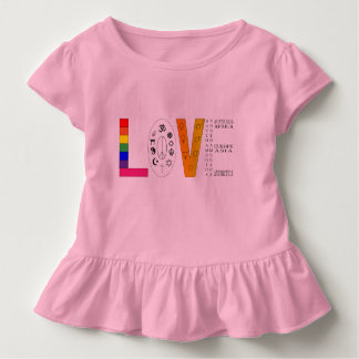 Camiseta Infantil Amor universal