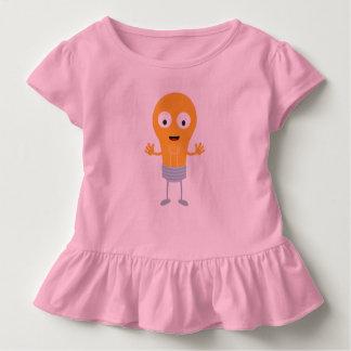Camiseta Infantil Ampola amigável Z825i feliz