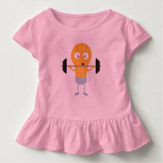 Camiseta Infantil Ampola da malhação com peso