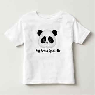 Camiseta Infantil Animais bonitos da cara dos desenhos animados de