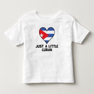 Camiseta Infantil Apenas um cubano pequeno
