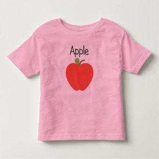 Camiseta Infantil Apple vermelho