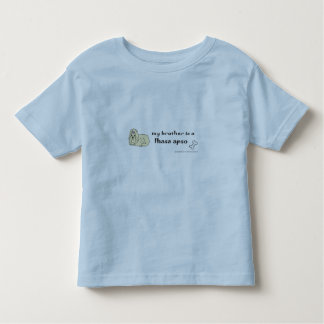 Camiseta Infantil apso de lhasa