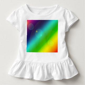 Camiseta Infantil Arco-íris borbulhante