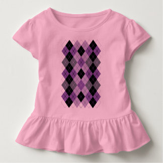 Camiseta Infantil Argyle roxo