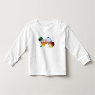 Camiseta Infantil Arte da doninha