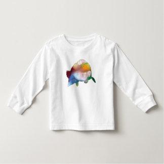 Camiseta Infantil Arte da toupeira