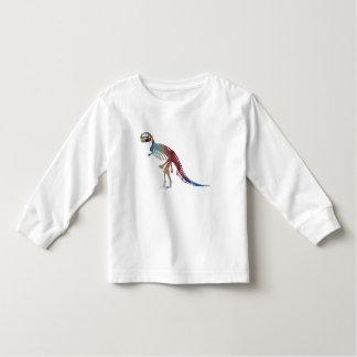 Camiseta Infantil Arte do esqueleto do rex do tiranossauro