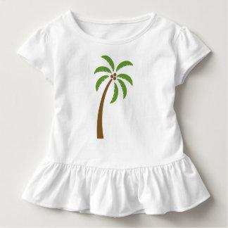 Camiseta Infantil Árvore de coco do caribe