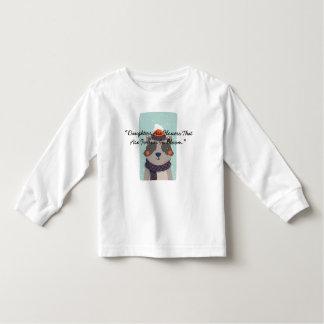 """Camiseta Infantil As """"filhas são as flores que estão para sempre na"""