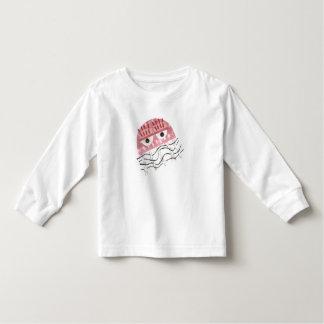 Camiseta Infantil As medusa não penteiam nenhuma ligação em ponte da