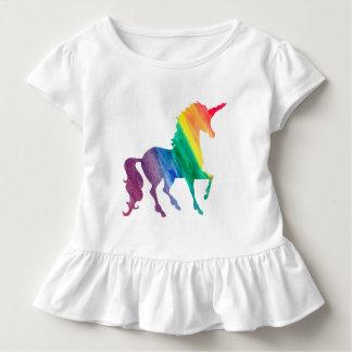 Camiseta Infantil As meninas refrigeram miúdos da aguarela do
