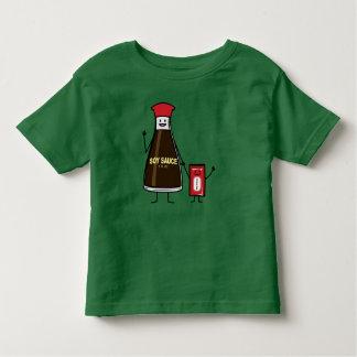 Camiseta Infantil Asiático do condimento da criança do miúdo do