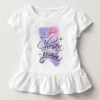 Camiseta Infantil Assistência social escolhida, tema da adopção