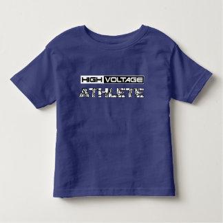 Camiseta Infantil Atleta da alta tensão