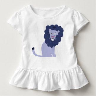 Camiseta Infantil Azul azul do leão