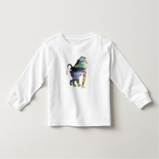 Camiseta Infantil Babuíno