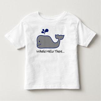 Camiseta Infantil Baleia olá! lá